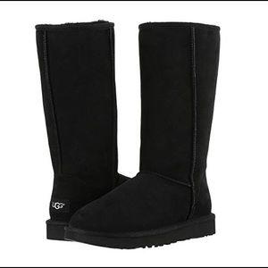 UGG Black Classic Tall Boots